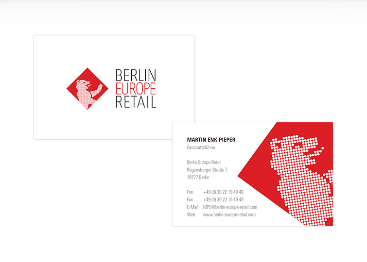 Berlin Europe Retail - Corporate Design