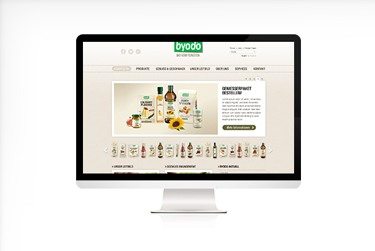 Byodo Website Design