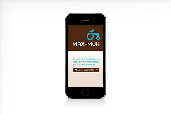 MAX+MUH Mobile App Design