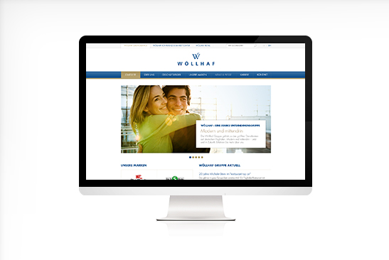 Wöllhaf Airport Website Design