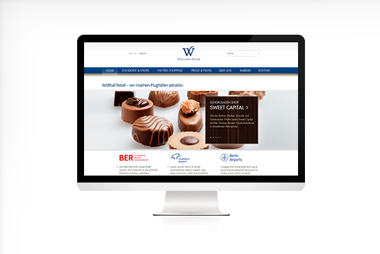 Wöllhaf Retail Website Design