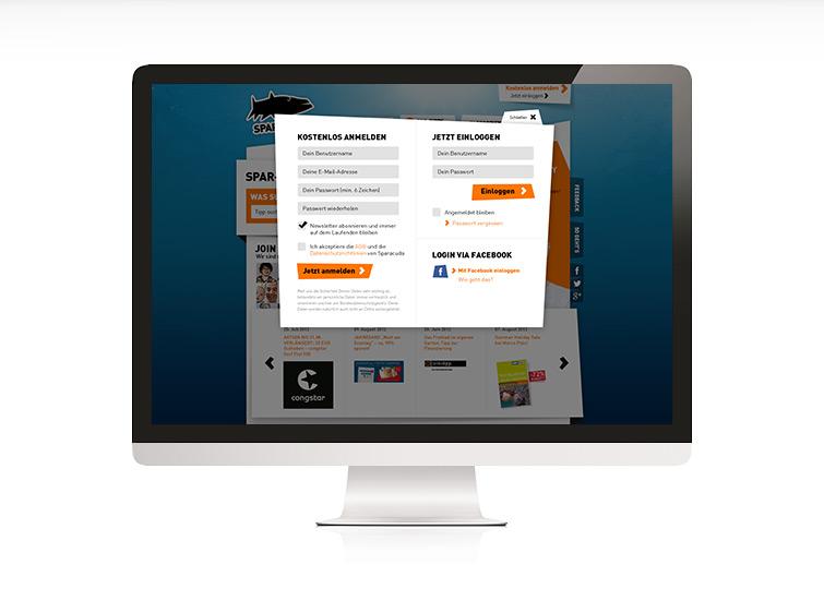 Website Design für Sparacuda