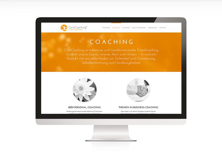 CoreCoaching Responsive Website Design