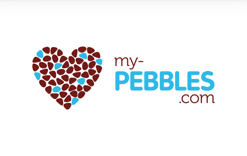my-pebbles.com Logo Design