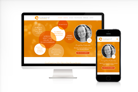 CoreCoaching Responsive Website Design