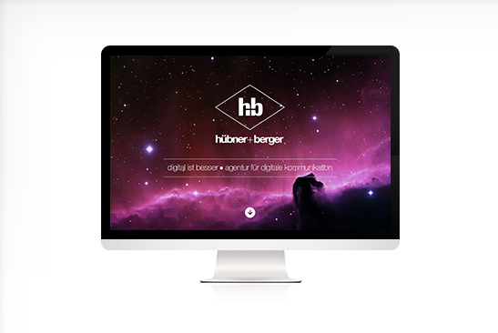 huebner+berger Website Design