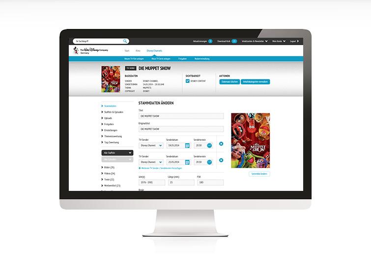 Disney Content Website Concept & Design