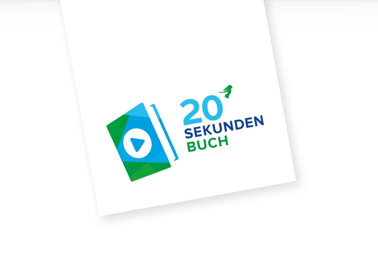 Thalia 20 Sekunden Buch Logo Design