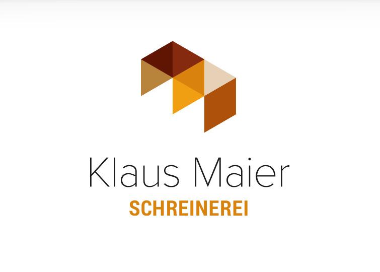 Schreinerei Klaus Maier - Corporate Design