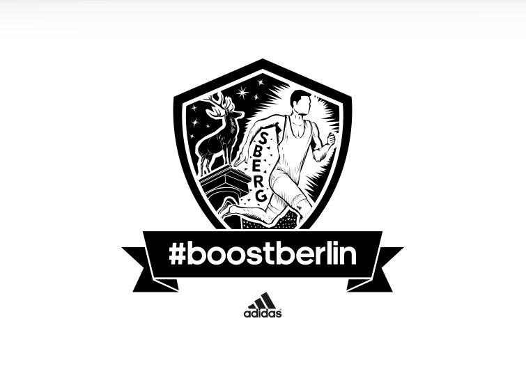 Kiezlogo Schöneberg für adidas #boostberlin – das Berliner Running Network von adidas