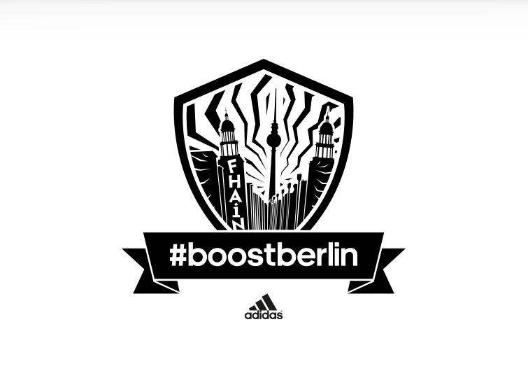 Kiezlogo Friedrichshain für adidas #boostberlin – das Berliner Running Network von adidas