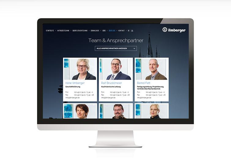 Ilmberger Responsive Web Design