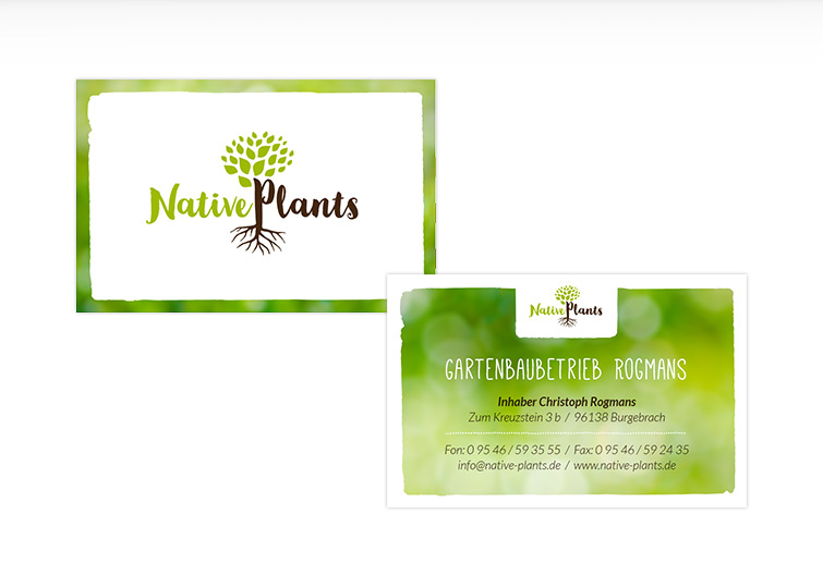 Native Plants Corporate Design