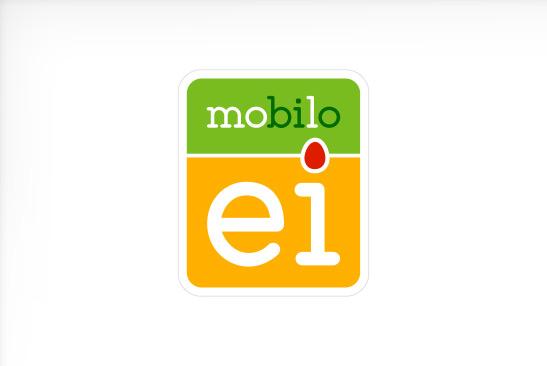 mobilo Ei Logo-Design
