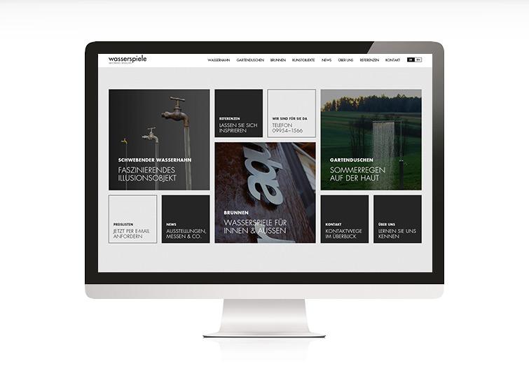 Michael Krauss Wasserspiele Responsive Website Design